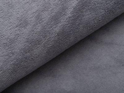 Bambus Fleece - uni helles grau