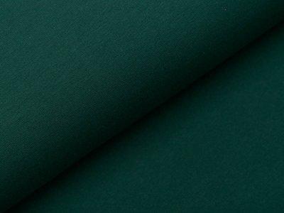 Sweat French Terry  - uni dunkles grün