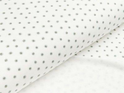 Sommer-Sweat Hilco - Dots - wollweiß/mint