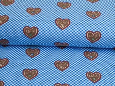 Jersey Eigenproduktion KDS Herzilein dunkelblau