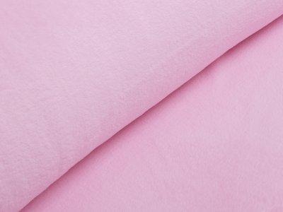Wellnessfleece Teddyplüsch - uni rosa