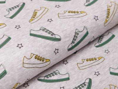 Alpenfleece - Sneakers - meliert grau
