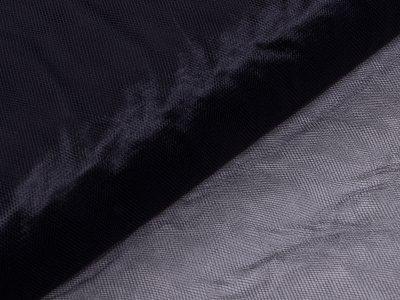 Tüll - uni schwarz