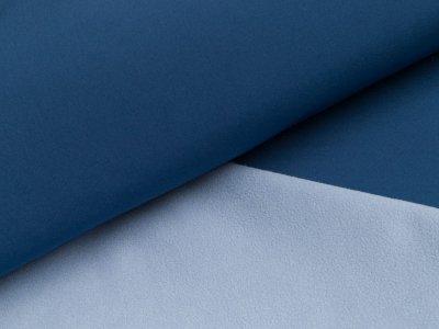 Jackenstoff  Softshell - blau/helles blau