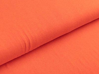 Jersey Viskose - uni orange