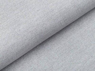 Sweat French Terry Digitaldruck in Jeansoptik - helles grau