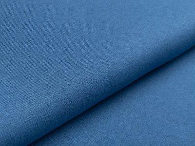 Jersey Viskose - uni jeansblau