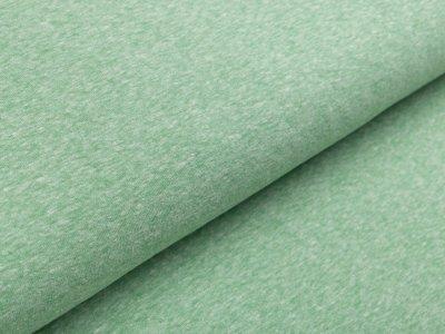 Jersey Viskose - meliert grün