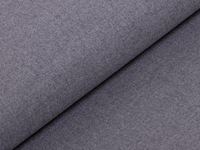 Hosen-Jacken-Stoff Webware Köper Flanell - meliert grau