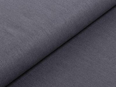 Hosen-Jacken-Stoff Webware Köper - meliert grau