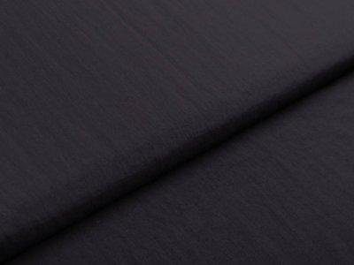 Jackenstoff Windbreaker - Crash - uni schwarz
