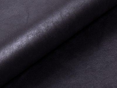 KDS Queen's Collection Ramona - Weiches dehnbares Lederimitat - schwarz