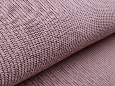 Strickstoff Baumwolle - uni taupe