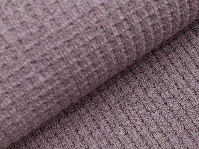 Strickstoff Baumwolle - meliert - grau