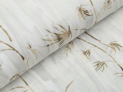 Jersey Digitaldruck Auva - lange Gräser - beige
