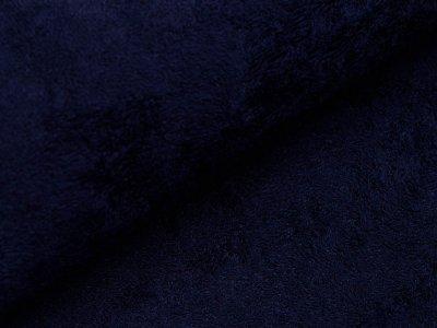 Bambus Frottee - uni dunkelblau
