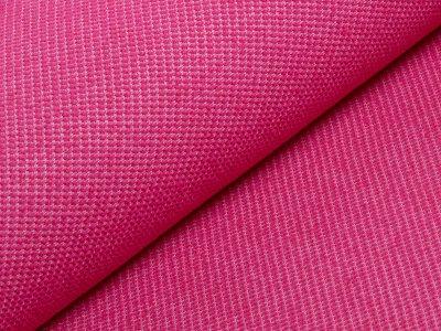 KDS Queen's Collection - Jersey Jacquard - erhabene Karos - pink