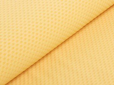 KDS Queen's Collection Isabella - Jacquard Nylon mit haptischer Struktur - gelb