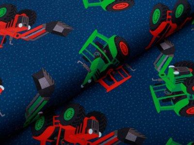 Jersey Swafing Traktor Power by Sandra Kretzmann - Traktoren - dunkles blau