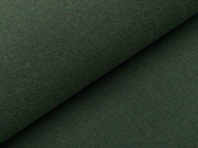 Leicht angerauter Strickstoff Bono HW 21/22 made in Italy - uni tannengrün