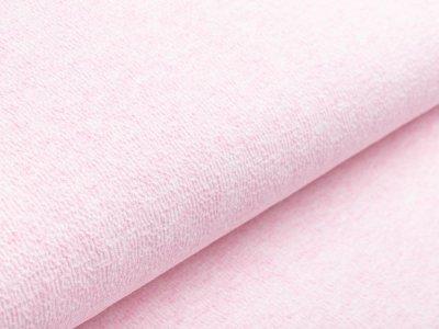 Jersey Jacquard - meliert rosa