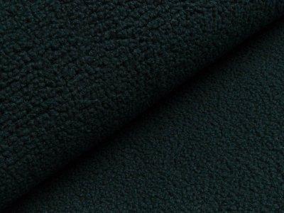 Bouclé Mantelstoff - dunkles grün