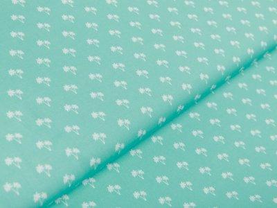 Webware Baumwolle Swafing Toni - Palmen - mint
