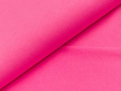 Leicht angerauter Sweat - uni pink