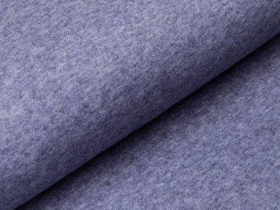Strickstoff Viskose - meliert taubenblau