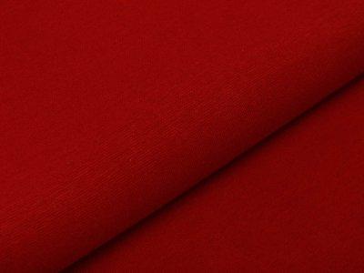 Glattes Bündchen im Schlauch 35 cm - uni helles bordeaux