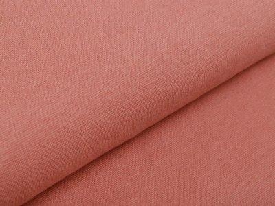 Glattes Bündchen im Schlauch 35 cm - uni altrosa