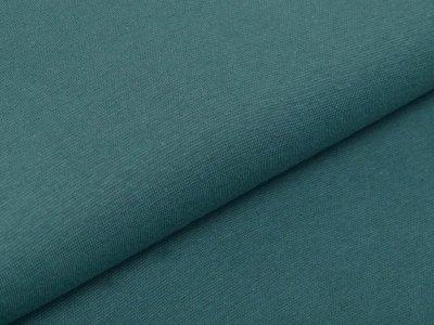 Glattes Bündchen im Schlauch 35 cm - uni altpetrol