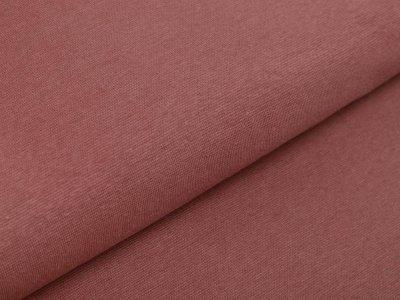 Glattes Bündchen im Schlauch 35 cm - uni dunkles puderrosa