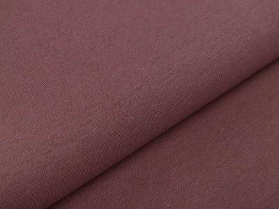Glattes Bündchen im Schlauch 35 cm - uni dunkles rosa