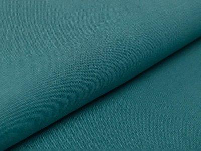 Glattes Bündchen im Schlauch Swafing Heike-FS21 100 cm - uni smaragd