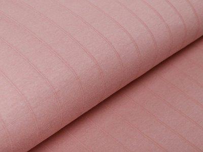 Musselin Baumwolle Hydrofiel Double Gauze - Karo-Optik - uni rosé
