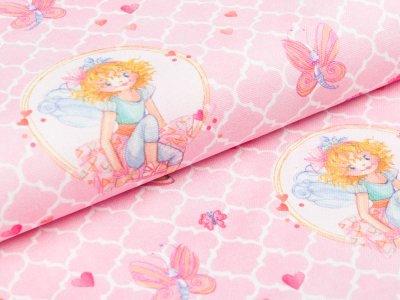 Webware - Prinzessin Lillifee und Schmetterlinge - rosa
