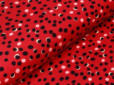 Jersey - verschobene Kreise - rot