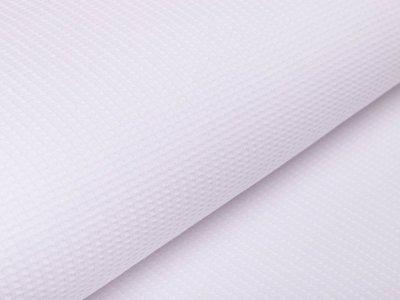 Jersey Waffeloptik Snoozy - uni weiß