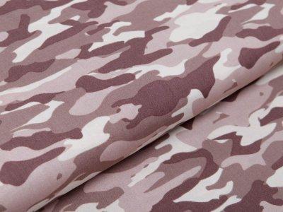 Webware Baumwolle Popeline - Camouflage - taupe