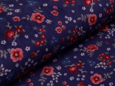 Nicki - kleine Blumen - blau
