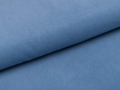 Jersey Modal - uni jeansblau
