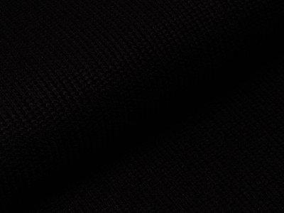 Strickstoff Viskose - schwarz
