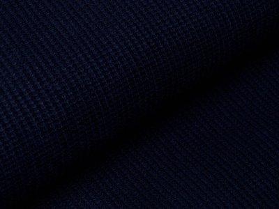 Strickstoff Viskose - nachtblau