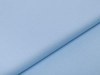 Webware Baumwolle Popeline - uni blau