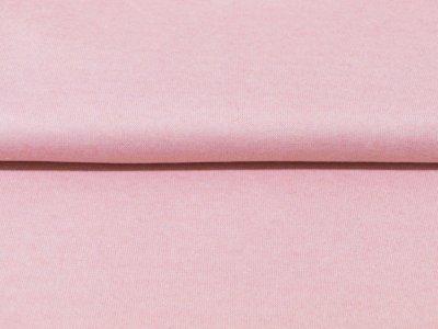 KDS Queen's Collection Candy - angerauter Strickstoff - meliert rosa