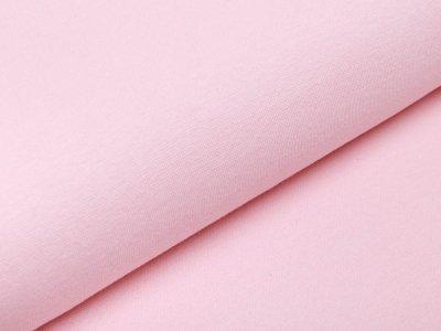 Glattes Bündchen im Schlauch - rosé