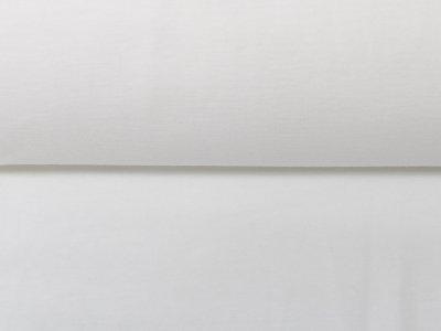 KDS Queen's Collection Olivia - Jersey Viskose - uni weiß