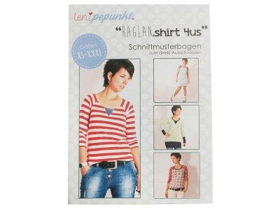 """Papier-Schnittmuster Lenipepunkt - Shirt """"Raglanshirt4us"""" - Damen"""