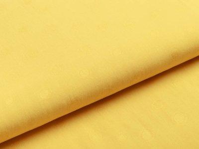 Webware Viskose - Dots - gelb